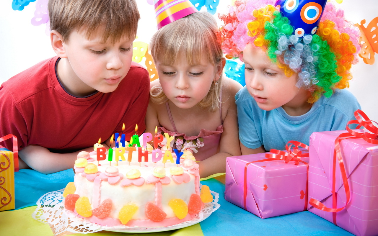 Празднования праздника день рождения