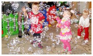 Пузыри на детский  праздник