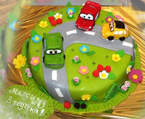 Фото тортов для детей из интернета