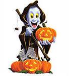 Привидение в Хэллоуин