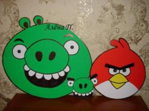 День рождения в стиле Angry Birds